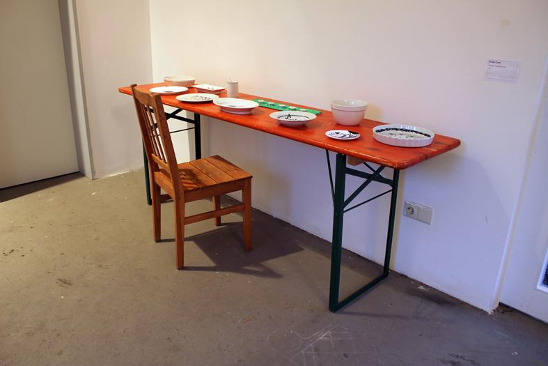 """Frida Cano, """"The food I would like to eat..."""", 2012"""
