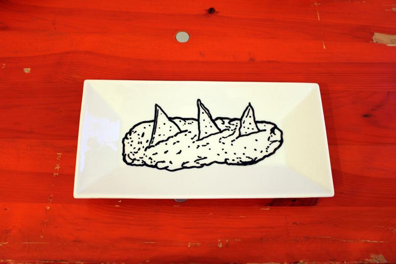 "Frida Cano, ""The food I would like to eat..."" (detail), 2012"