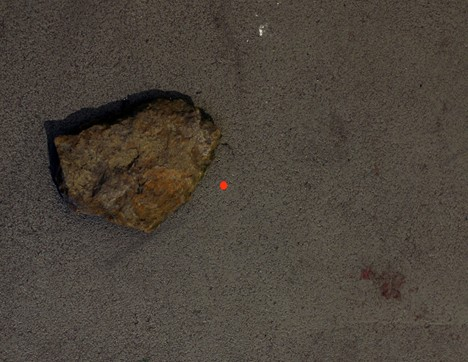 "Marcus Große, ""stone 52.275883,7.623581"", 2012"